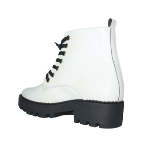 Cactus leather boots - White Lola