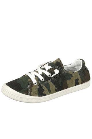 Slip on Sneakers - Camo