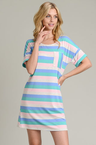 Summer Sorbet Shift Dress