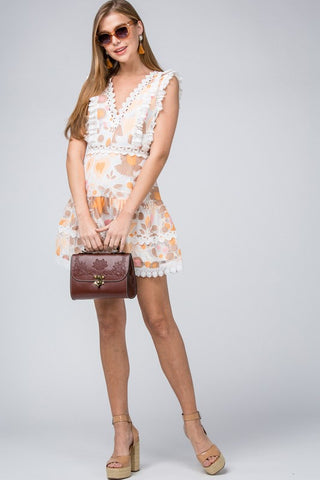Summer of Love Dress - Mocha