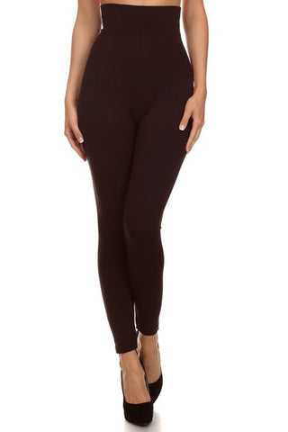 Tummy Control Compression Leggings - 5 colors
