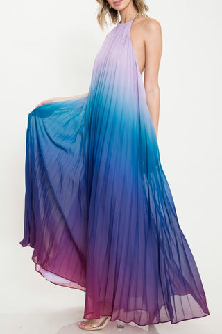 Sunshine Aura Maxi Dress - Dusk
