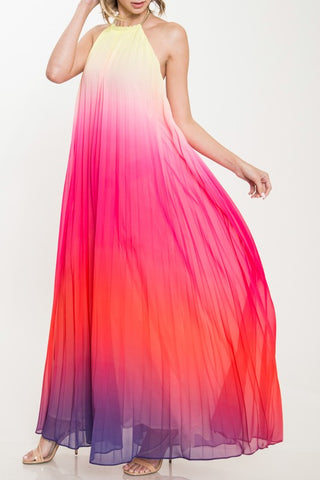 Sunshine Aura Maxi Dress - Dawn
