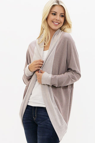 Soft and Cozy Cardigan - Taupe