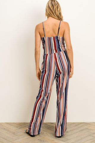 Candy Striped Jumpsuit
