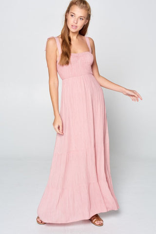 Sunkissed Maxi Dress - Mauve