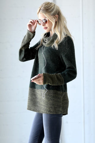 Cozy Delights Sweater - Olive