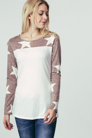 Star Top - White