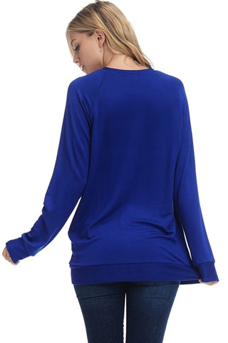 Lightweight Football Sweatshirt - Blue