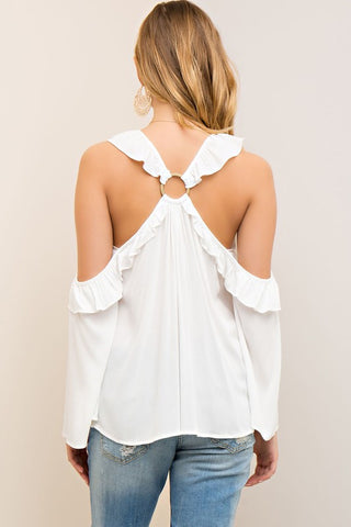 Spring Shindig Top - Off White