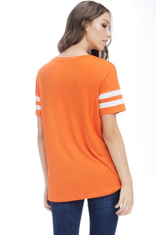 I Willie Love Game Day Top - Orange