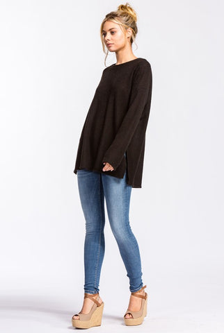 Flowy Thermal Top - Black