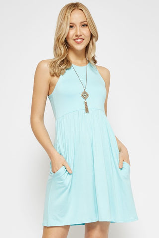 Simple Summer Dress - Mint