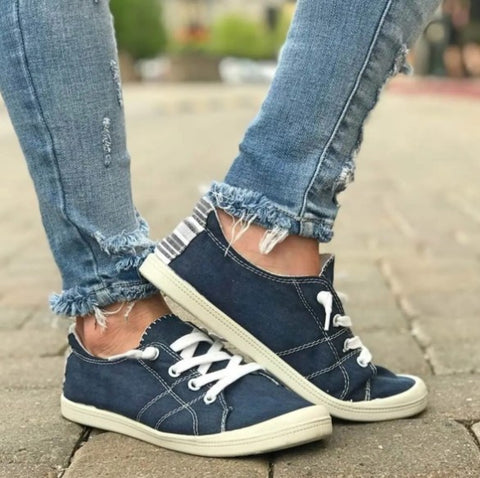 Slip on Sneakers - Navy