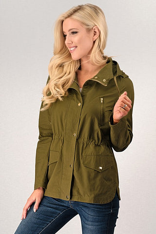 Lightweight Fall Jacket - Olive