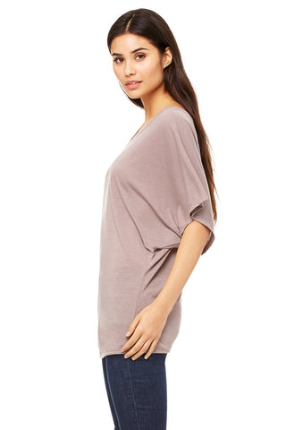 Flowy Dolman Top - Pebble