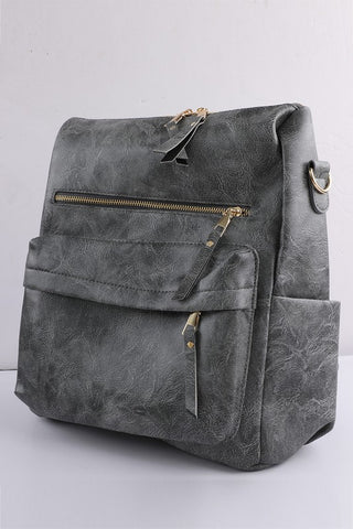 Convertible Handbag - Grey