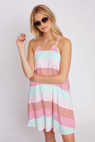Sherbert Stripes Dress