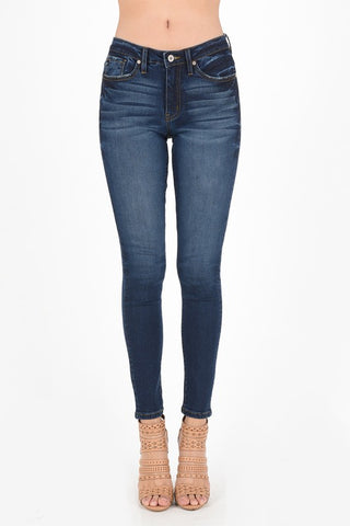 Kan Can Button Front Jeans