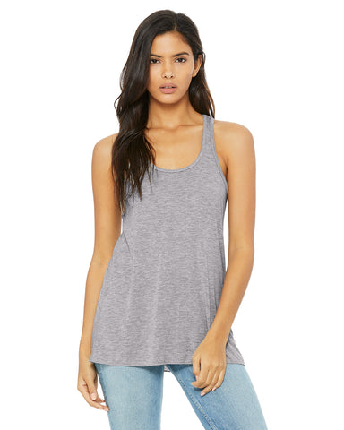 Racerback Tank Top - Light Gray