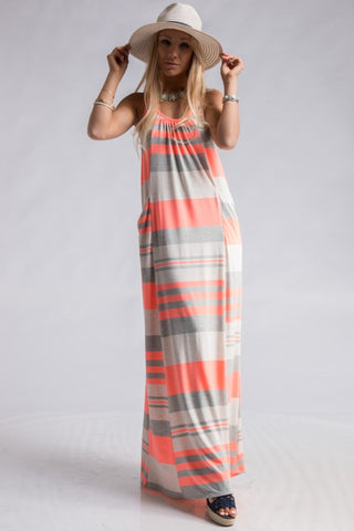 Summer Getaway Maxi Dress - Mint