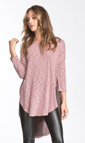 Free Flowing Top - Mauve