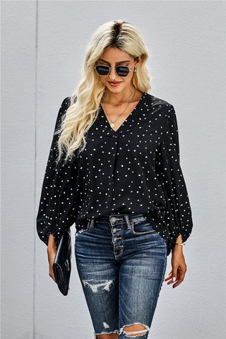 Sweetheart Blouse - Black