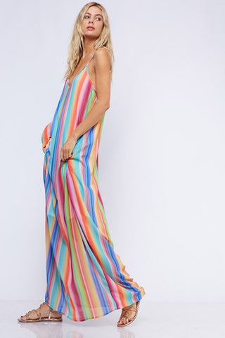 Sail Away Maxi Dress - Shades of Summer