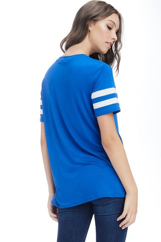 I Willie Love Game Day Top - Royal