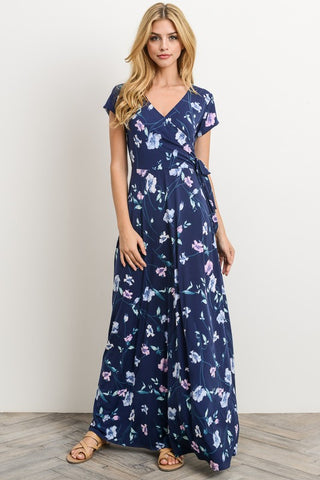 Field of Flowers Maxi Dress - Navy