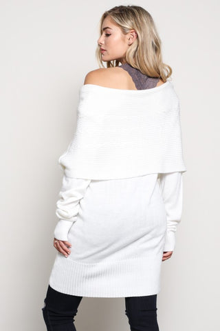 Layers of Warmth Sweater - Ivory