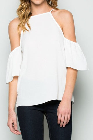 Springtime in Paris Top - White