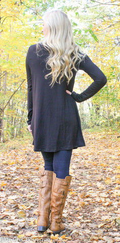 Glitter Reindeer Tunic - Black - Blue Chic Boutique  - 10