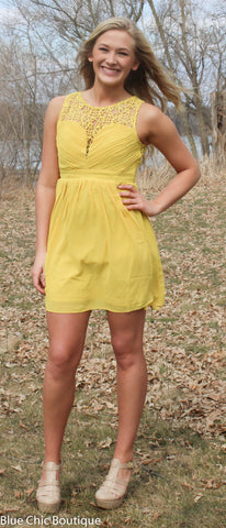 Opulent Dress - Mustard - Blue Chic Boutique  - 4