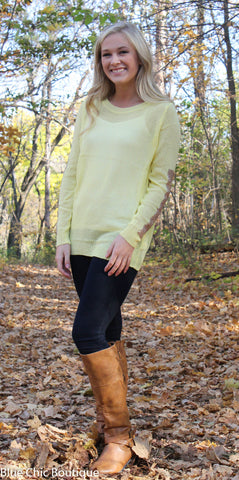 Sparkle and Shine Sequined Sleeved Sweater - Olive - Blue Chic Boutique  - 5