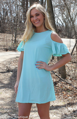 Summer in the City Dress - Mint - Blue Chic Boutique  - 1