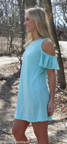 Summer in the City Dress - Mint - Blue Chic Boutique  - 2
