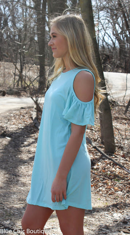 Summer in the City Dress - Mint - Blue Chic Boutique  - 4