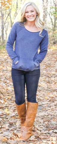 Edgy Eco-Friendly Sweatshirt - 8 Colors - Blue Chic Boutique  - 1