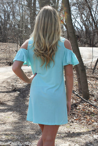 Summer in the City Dress - Mint - Blue Chic Boutique  - 5