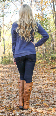 Edgy Eco-Friendly Sweatshirt - 8 Colors - Blue Chic Boutique  - 3