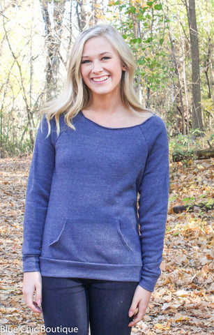 Edgy Eco-Friendly Sweatshirt - 8 Colors - Blue Chic Boutique  - 4