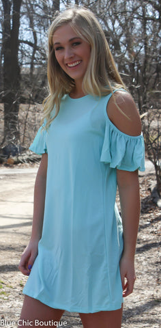 Summer in the City Dress - Mint - Blue Chic Boutique  - 3