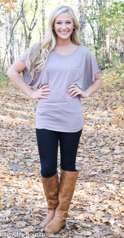 Flowy Dolman Tee - S-2XL - 12 colors - Blue Chic Boutique  - 45