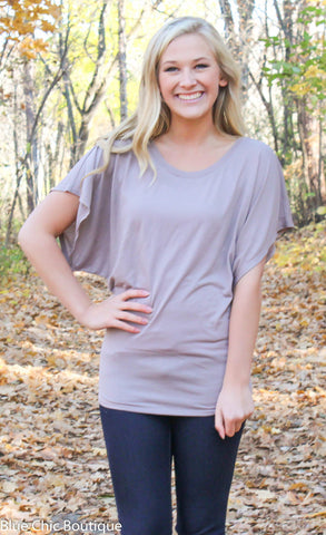 Flowy Dolman Tee - S-2XL - 12 colors - Blue Chic Boutique  - 4