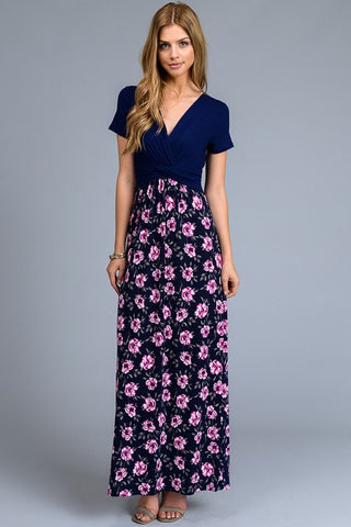 Music in the Park Maxi Dress - Navy