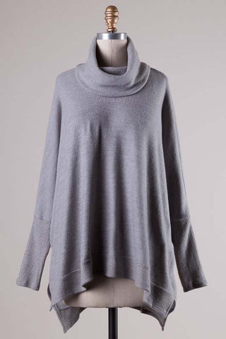 Blustery Afternoon Top - Grey - Blue Chic Boutique  - 6
