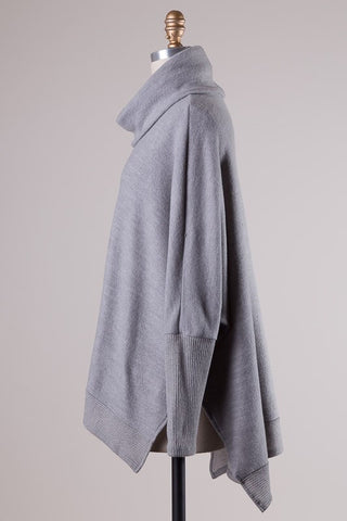Blustery Afternoon Top - Grey - Blue Chic Boutique  - 7
