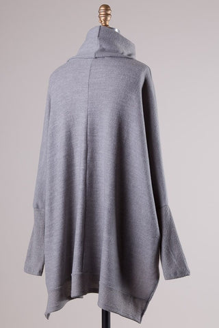 Blustery Afternoon Top - Grey - Blue Chic Boutique  - 8