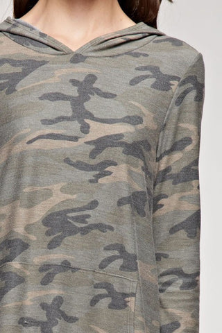 Camo Dress with Pockets - Blue Chic Boutique  - 5
